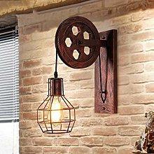 LZQBD Wall Lamp,Wall Light E27 Vintage Retro Wall