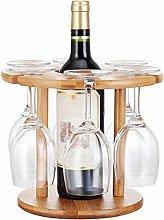 LZQBD Wine Glass Holder, Under Cabinet Rack,