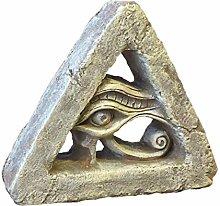 LZYPQY Sculpture Statue Ornament Egyptian Eye Of