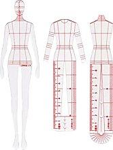 LZYqwq 3Pcs Acrylic Curve Template Ruler Sewing