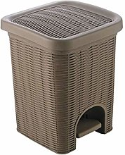 LZZB Trash Can Combo Set Waste Recycle Bin