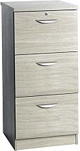 M-3DF-IN Three Drawer Wooden Effect Filing Cabinet