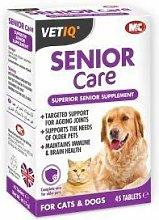 M & C Vet IQ Senior Care (45Tabs) - 22493