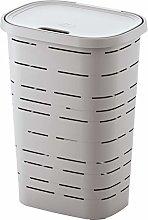 M-Home PLS6047V-171 Laundry Basket, Plastic, Linen