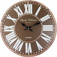 M S L Brown Charles Williams London Wall Clock 40