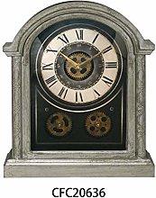 M S L Mantel Gear Clock 40 cm