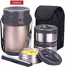 M&TG 2 Tier Stainless Steel Lunch Box,Bento Box