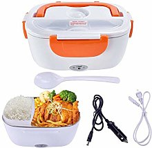 M&TG Electric Heating Lunch Box, 2 in 1 12V 24V