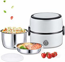 M&TG Electric Lunch Box 1.3L,Portable Food Heater