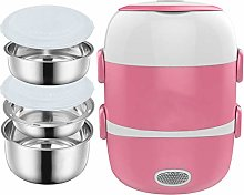 M&TG Electric Lunch Box 2L,Portable Food Heater