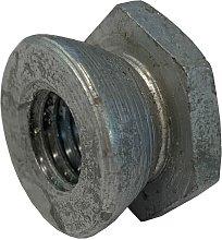 M10 Shear Nut Galvanised Mild Steel (Permacone -