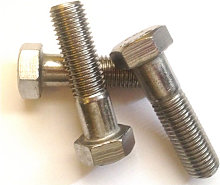 M12 x 40 mm Hex Bolt - Galvanised Mild Steel DIN931