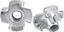 M3 M4 M5 M6 M8 M10 M12 Zinc Plated Four Claws Nut
