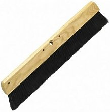 M847 Wooden Concrete Broom Black Polypropylene