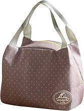 MA87 Portable Lunch Bag Tote Picnic Insulated