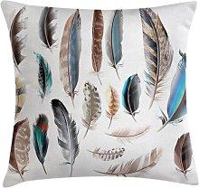 Maaza Feathers Bird Body Outdoor Cushion Cover