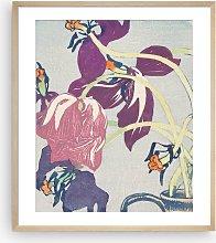 Mabel Royds - 'Dead Tulips' Framed Print &