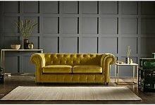 MacAdam 3 Seater Chesterfield Sofa Rosalind