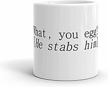 Macbeth Shakespeare Quote What You Egg He Stabs