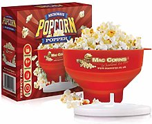 MacCorns Microwave Popcorn Maker, Hot Air or Oil