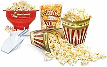 MacCorns Popcorn Making Kit, Microwave Popper Bowl