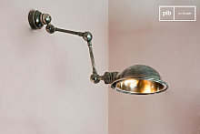 Machine-tool style Wall Lamp