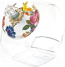 MacKenzie-Childs Cookie Jar With Flower Market