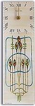 Mackintosh Rosebuds Acrylic Glass Kitchen Wall