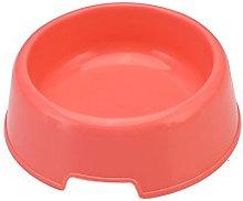 Mackur Plastic Hard Non-slip Pet Bowls Pet Food