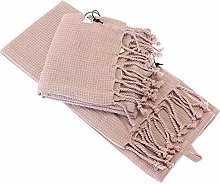 Macosa AU652-102 Tea Towels Pack of 2 100% Cotton