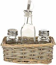 MACOSA NO79183 Vinegar or Oil Cruet with Spice