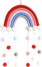 Macrame Rainbow Wall decoration for children