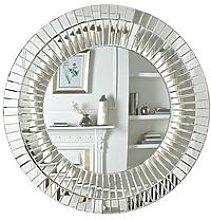 Macy Round Wall Mirror