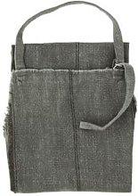 Madam Stoltz - Dark Grey Stoneware Cotton Apron
