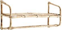 Madam Stoltz - Hanging Bamboo Shelf - bamboo  