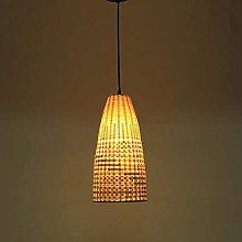 MADBLR7 Antique Rural Style Bamboo Chandelier,