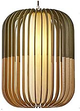 MADBLR7 Japanese Style Tatami Lantern Shape Wooden