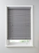 Made To Measure 50Mm Wooden Venetian Blinds - Ash
