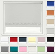 Made To Measure Diamante Blackout Roller Blind -
