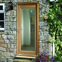 Made to Measure Exterior Full Pane Door - Double