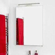 Madison Bathroom Illuminated Mirror Cabinet Modern
