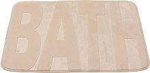 Maerex - Memory coral fleece rug 40x60 cm Bathroom