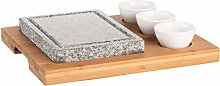 MÄSER 931758 Hot Stone Grill Stone Set with