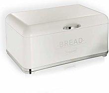 Maestro 1677 Bread Bin Steel white-silver