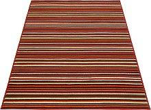 Maestro Fine Stripe Woven Short Pile Rug -