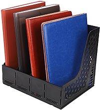 Magazine File Rack File Holder Desk File Organiser
