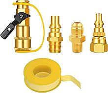 Magent Propane Gas Fitting Adapter with 1/4 Inch