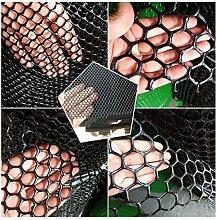 MAGFYLY plastic netting fencing mesh Black Plastic