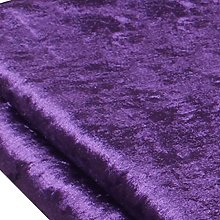 MAGFYLY Velvet Fabric Velour Material Upholstery