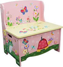 Magic Garden Childrens Kids Wooden Toy Storage